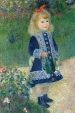 Pierre-Auguste Renoir's 'a Girl with a Watering Can' Art of Life Journal (Lined)