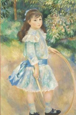 Bog, paperback Pierre-Auguste Renoir's 'Girl with a Hoop' Art of Life Journal (Lined) af Ted E. Bear Press