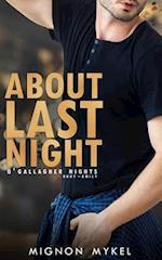 About Last Night af Mignon Mykel