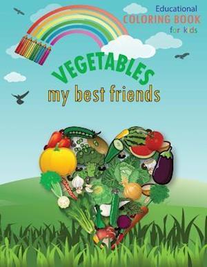 Bog, paperback Vegetables My Best Friends