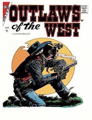 Bog, paperback Outlaws of the West # 13 af Charlton Comics Group