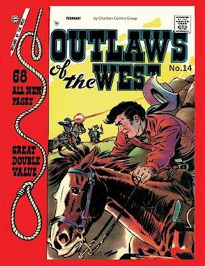 Bog, paperback Outlaws of the West # 14 af Charlton Comics Group
