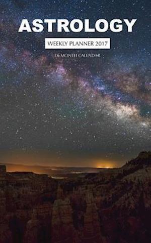 Bog, paperback Astrology Weekly Planner 2017 af David Mann
