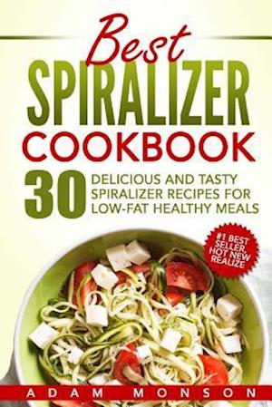 Bog, paperback Best Spiralizer Cookbook af MR Adam Monson