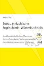 Sooo... Einfach Kann Englisch Mini Worterbuch Sein.