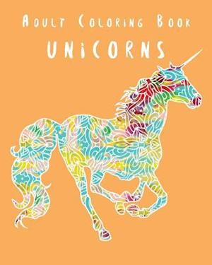 Bog, paperback Adult Coloring Book - Unicorns af Splash Coloring Books