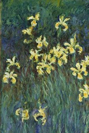 Bog, paperback Claude Monet's 'Yellow Irises' Art of Life Journal (Lined) af Ted E. Bear Press