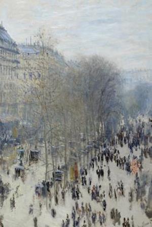 Bog, paperback Claude Monet's 'Boulevard Des Capucines' Art of Life Journal (Lined) af Ted E. Bear Press