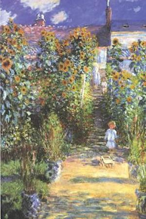 Bog, paperback Claude Monet's 'The Artist's Garden at Vetheuil' Art of Life Journal (Lined) af Ted E. Bear Press