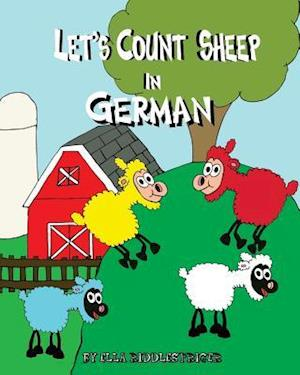 Bog, paperback Let's Count Sheep in German af Ella Riddlespriger