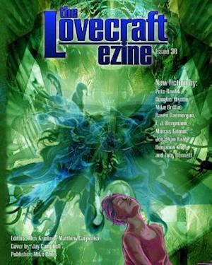 Bog, paperback Lovecraft Ezine Issue 38 af Pete Rawlik, Douglas Wynne, Michael Griffin