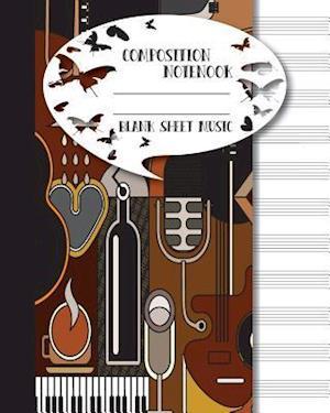 Bog, paperback Blank Sheet Music af Mind Publisher