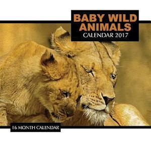 Bog, paperback Baby Wild Animals Calendar 2017 af David Mann