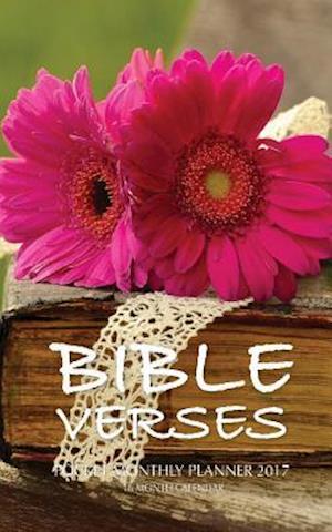 Bog, paperback Bible Verses Pocket Monthly Planner 2017 af David Mann