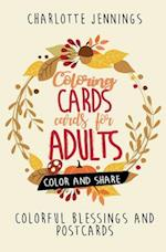 Coloring Cards for Adults