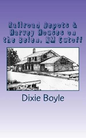 Bog, paperback Railroad Depots & Harvey Houses on the Belen, NM Cutoff af Dixie Boyle