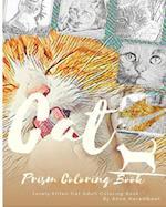 Kitten Cat Coloring Book af Anna Harembeat