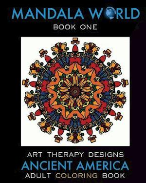 Bog, paperback Mandala World af Art Therapy Designs, Maya Necalli