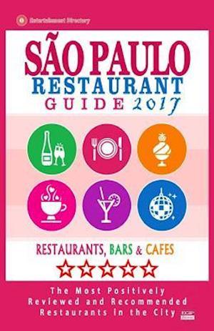 Bog, paperback Sao Paulo Restaurant Guide 2017 af Lygia G. Lispector