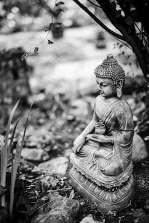Bog, paperback Buddha Garden Statue in Black and White af Unique Journal