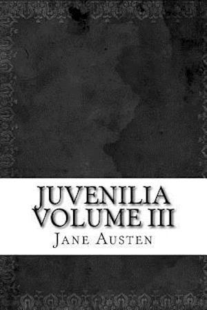 Bog, paperback Juvenilia Volume III af Jane Austen