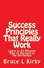 Success Principles That Really Work