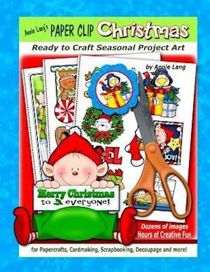 Bog, paperback Annie Lang's Paper Clip Christmas af Annie Lang