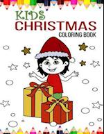 Kids Christmas Coloring Book af Happy Kids, Christmas Coloring Books for Children