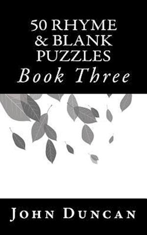 50 Rhyme & Blank Puzzles