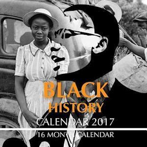 Bog, paperback Black History Calendar 2017 af David Mann