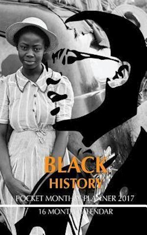 Bog, paperback Black History Pocket Monthly Planner 2017 af David Mann
