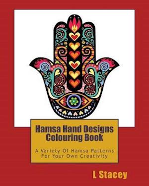 Bog, paperback Hamsa Hand Designs Colouring Book af L. Stacey