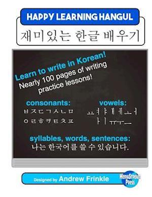 Bog, paperback Happy Learning Hangul af Andrew Frinkle