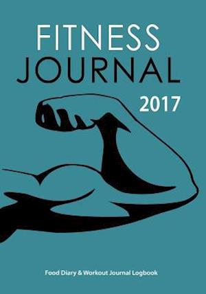 Bog, paperback Fitness Journal 2017 af Blank Books Journals