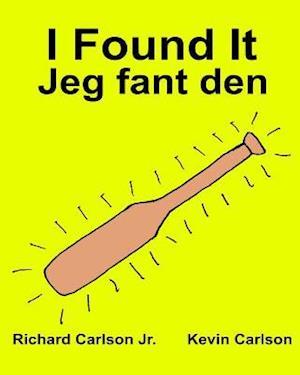 Bog, paperback I Found It Jeg Fant Den af Richard Carlson Jr
