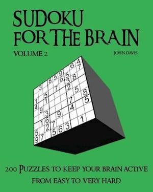 Bog, paperback Sudoku for the Brain Volume 2 af John Davis