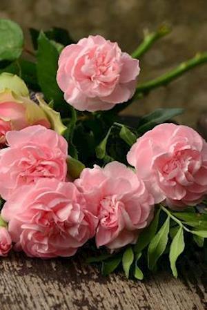 Bog, paperback A Bouquet of Pink Roses on a Bench in the Park af Unique Journal