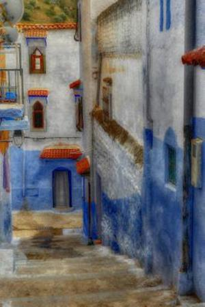 Bog, paperback A Painted Narrow Alley in Greece af Unique Journal