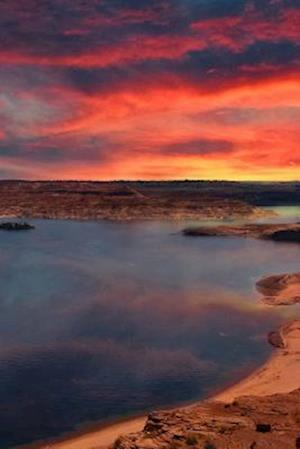 Bog, paperback Beautiful Lake Powell, Arizona at Sunset af Unique Journal