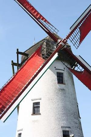 Windmill in Bruges Belgium Journal