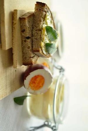 Bog, paperback Breakfast Bread and Yogurt, for the Love of Food af Unique Journal