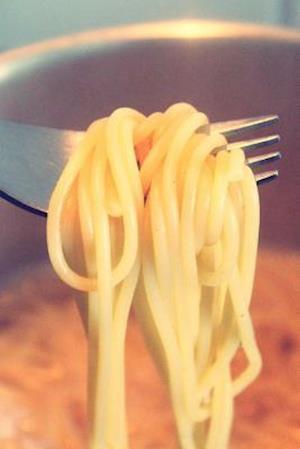 Bog, paperback Spaghetti on a Fork Journal af Cs Creations