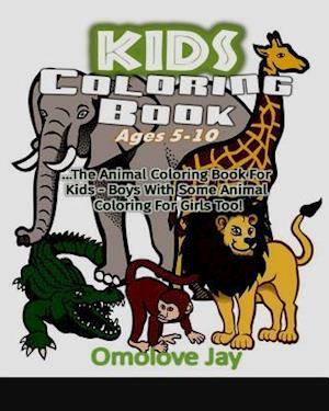 Kids Coloring Book Ages 5-10
