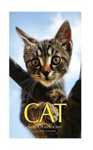 Bog, paperback Cat Weekly Planner 2017 af David Mann