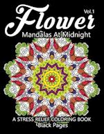 Flower Mandalas at Midnight Vol.2 af Relax Team