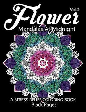 Bog, paperback Flower Mandalas at Midnight Vol.3 af Relax Team