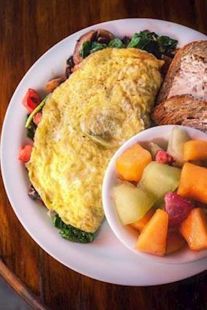 Bog, paperback Omelet Breakfast Journal af Cs Creations