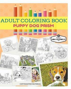 Bog, paperback Puppy Dog Coloring Book af Anna Harembeat