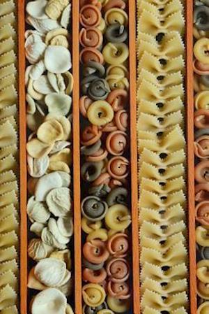 Bog, paperback Tons of Different Pasta Noodles af Unique Journal