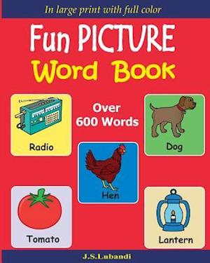 Bog, paperback Fun Picture Word Book (Full Color) af J. S. Lubandi